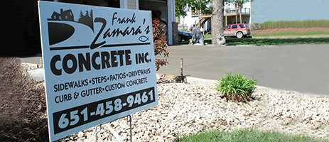 Contractor Yard Signs on Car Show Carpet Color Chart